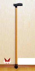 Трость деревянная с пластмассовой ручкой с УПС (Мега-Оптим)