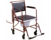 Кресло-каталка с санитарным оснащением LK 8002 (Мега-Оптим)
