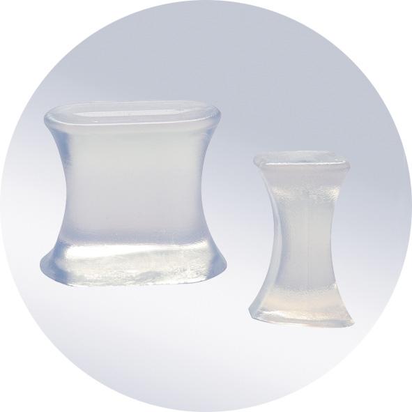 Межпальцевая силиконовая перегородка (для раздвижения пальцев) ORTO