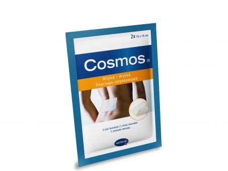 Пластырь согревающий и расслабляющий Cosmos warming and relaxing 2 шт.