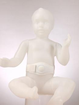 Детский пупочный противогрыжевой бандаж с круглым пелотом  Комф-Орт (универсальный)