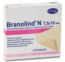 Повязка с перуанским бальзамом BRANOLIND® N / Бранолинд Н