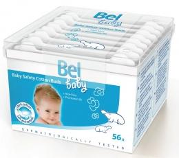 Bel Baby Safety Cotton Buds - ватные палочки с ограничителем, 56 шт
