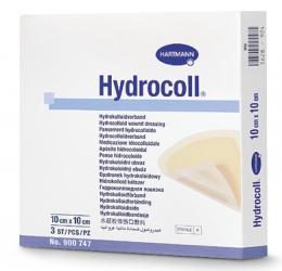 Гидроколлоидные повязки: 10 х 10 см; 10 шт.