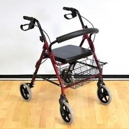 Прогулочные опоры - Роллейтор  на 4-х колесах (Мега-Оптим)