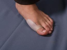 Силиконовый протектор для 1-й плюсневой кости (Атлетика)