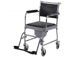 Кресло-каталка с санитарным оснащением (TITAN)