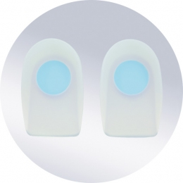 Вкладыши под пятку из силикона (Orto)