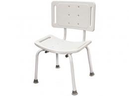 Стульчик для ванной комнаты со спинкой (TITAN)