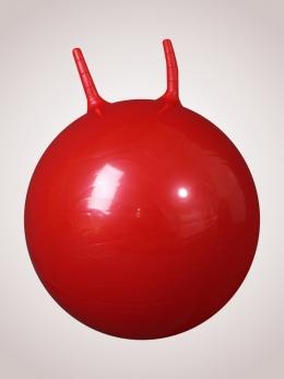 Гимнастический мяч детский  с ручками, 50 см. с насосом (Атлетика)